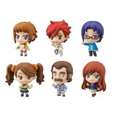 Petit Chara! Gundam Build Fighters Try Figure Set