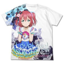 Love Live! Sunshine!! Ruby Kurosawa White Graphic T-Shirt
