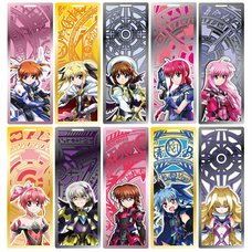 Magical Girl Lyrical Nanoha: Reflection Metal Bookmark Collection