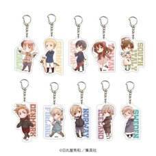 Hetalia: World Stars Acrylic Keychain Collection Vol. 1 Box Set