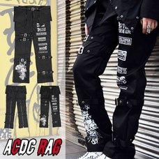 ACDC RAG Bat Bondage Pants