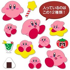 Kirby Super Star Fuwa Fuwa Stickers
