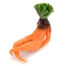 Sexy Sitting Carrot