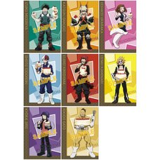 My Hero Academia Battle Cake Clear File Collection