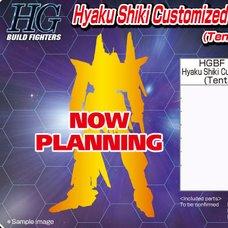 HGBF 1/144th Scale Hyaku Shiki Custom Build Figure Kit
