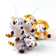 Rascal the Raccoon Nyanko-Style Plush Collection (Strap)