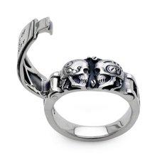 Wizard Skull Ring