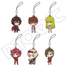 Code Geass: Lelouch of the Re;surrection Design Jersey Rubber Strap Collection Box Set
