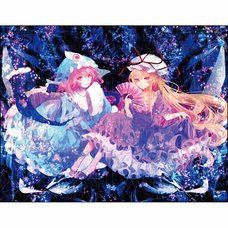 Touhou Project B2 Size Tapestry Vol. 17: Yukari & Yuyuko