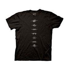 Naruto Shippuden Anti-Village Symbols Adult T-Shirt