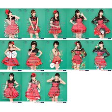 Hello! Project Countdown Party 2015 ~Good Bye and Hello!~ Morning Musume. '15 13 Metalic Photo Set w/ Messages