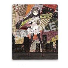 Puella Magi Madoka Magica The Movie –Rebellion– Holy Quintet Homura Canvas  Art
