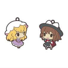 Touhou Project Puchi Chara Earphone Jack Rubber Strap