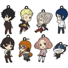 Nendoroid Plus: Persona 5 Collectible Rubber Keychains Box Set
