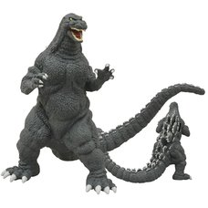 Godzilla 1989 Vinyl Coin Bank Figure
