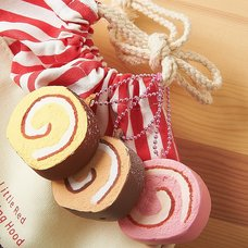 Cafe Sakura Roll Cake Squishy Charm