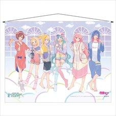 Hatsune Miku Otsukimi Party A1-Size Tapestry