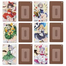 Touhou Project Full-Color Pass Case Collection