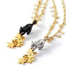 Palnart Poc Cat & Star Necklace