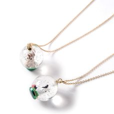 gargle Forest Snowglobe Necklaces