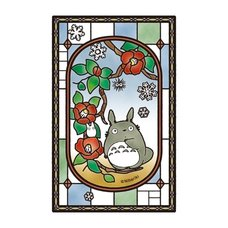 My Neighbor Totoro The Day Camellias Bloom Art Crystal Jigsaw Puzzle