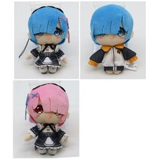 Re:Zero -Starting Life in Another World- Mini Plush Collection