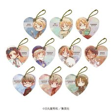Hetalia: World Stars Leather Charm Collection Vol. 2 Box Set