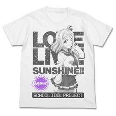 Love Live! Sunshine!! Mari Ohara White T-Shirt