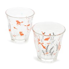 Aquatic Rimmed Glassware