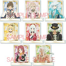 Tales of Zestiria the X Frame Acrylic Badges