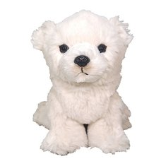 Fluffies Small Polar Bear Plush