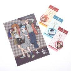 EVA STORE TOKYO-01 Original 5th Anniversary Rei, Asuka & Mari Set