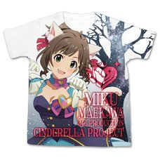 The Idolm@ster Cinderella Girls My First Star!! Miku Maekawa Graphic T-Shirt