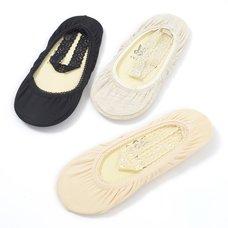 coudre un Ankle Lace Low-Cut Liner Socks