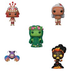 Pop! Disney: Moana - Complete Set