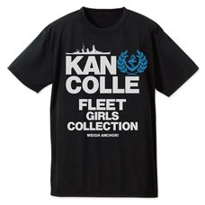 Kantai Collection -KanColle- Teitoku-Only Black Dry T-Shirt