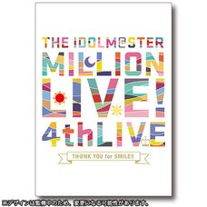 The Idolm@ster Million Live! 4th Live: Th@nk You for Smile!! Official Concert Book