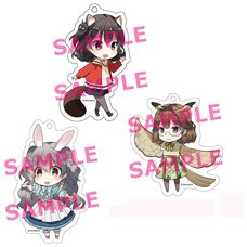 Kotonoha Amrilato Acrylic Keychain Charm Collection
