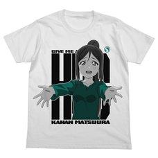 Love Live! Sunshine!! Kanan Matsuura Emotional White T-Shirt