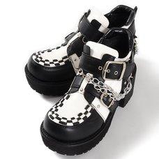 YOSUKE USA Platform Shoes