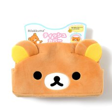 Rilakkuma Fuwaraku Plush Tissue Box Cover