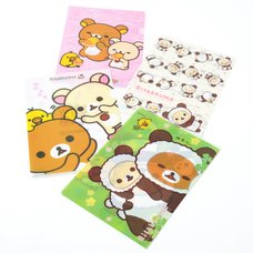 Rilakkuma Clear Files