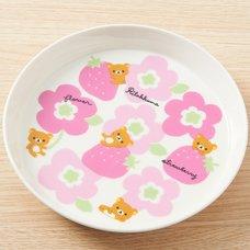 Rilakkuma & Strawberries Plate