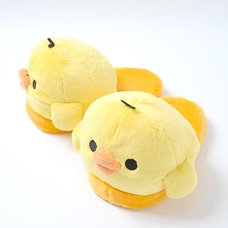 Kiiroitori Plush Slippers