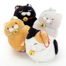 Hige Manjyu Cat Plush Collection (Ball Chain)