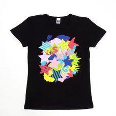 Super Girls 2015 Summer T-Shirt - Black