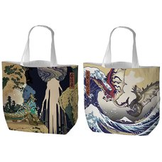 Monster Hunter Ukiyo-e Tote Bag Collection