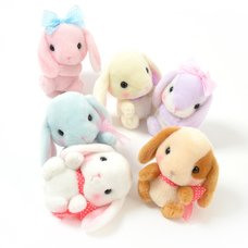 Pote Usa Loppy Feminine Rabbit Plush Collection (Standard)