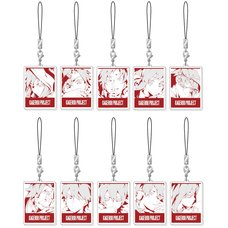 Kagerou Project Sidu Artworks Kagerou Days Ver. Acrylic Charm Strap Collection