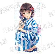 Saekano: How to Raise a Boring Girlfriend Microfiber Jumbo Bath Towel